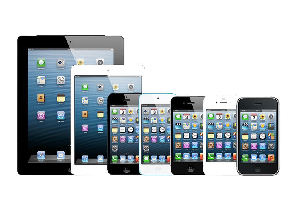 Apple iPhone, iPod, iPad Repair